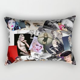 Madonna Collage-Ish. Rectangular Pillow