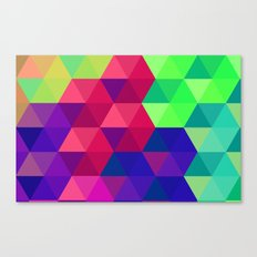 Hexagons 2 Canvas Print
