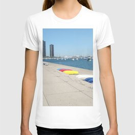 Chicago, Chicago shoreline, Skyline, Lake Michigan T-shirt