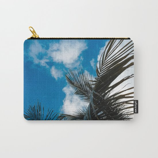 Sky behind the trees Carry-All Pouch