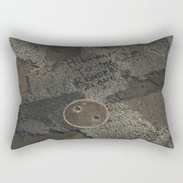 Day 0956 /// Bad joke Rectangular Pillow
