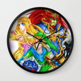 Power, Wisdom & Courage Wall Clock