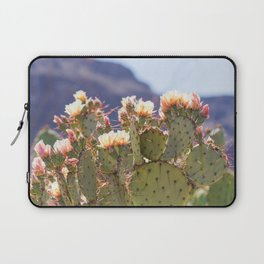 Prickly Pear Cactus Blooms, II Laptop Sleeve