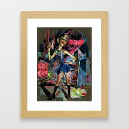 Red Alert Framed Art Print