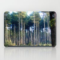 woods iPad Cases featuring Woods by madbiffymorghulis