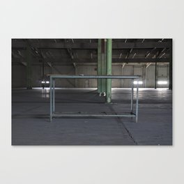 Tablewhataboutit Canvas Print
