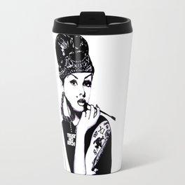 Audrey Hepburn. Rebel: Chola. Travel Mug