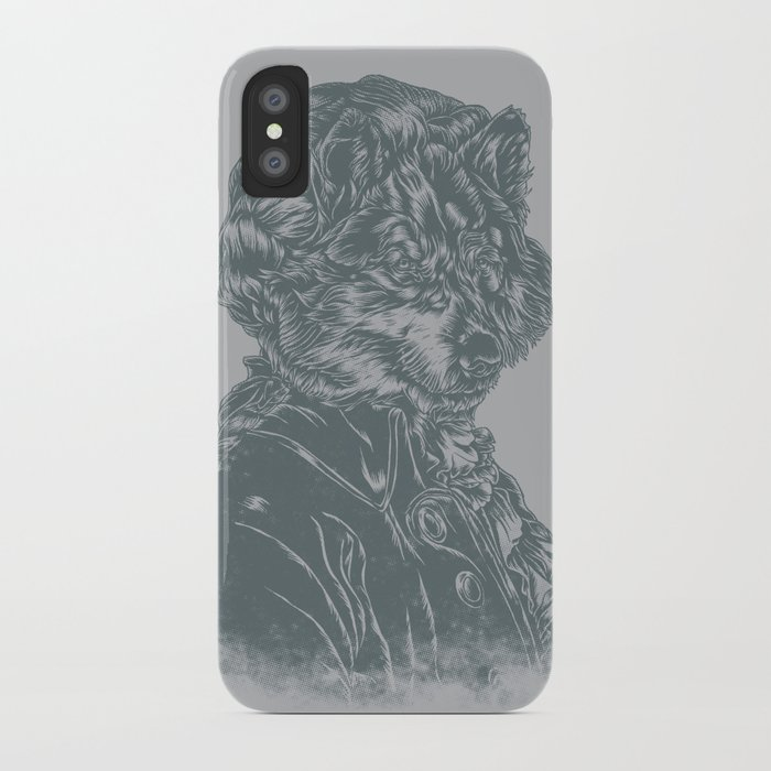 Wolf Amadeus Mozart iPhone Case