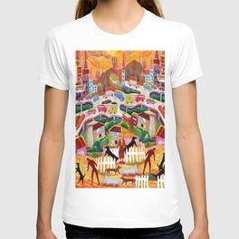 Ambos Nogales (Square) T-shirt