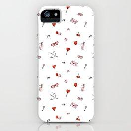 Lovestruck | White Background iPhone Case
