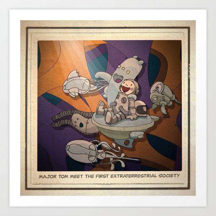 Major Tom 02 Art Print