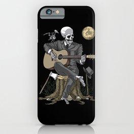 Skeleton Guitarist iPhone Case