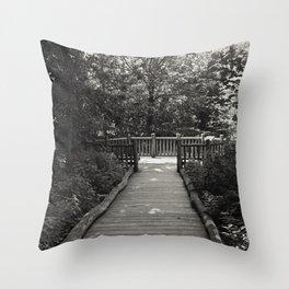 Flat Rock Brook Nature Center Throw Pillow