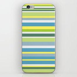 Beach Style Stripes iPhone Skin