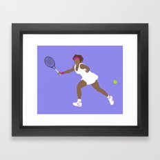 Serena Framed Art Print