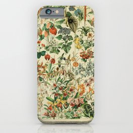 french vintage 1800s adolphe millot iPhone Case