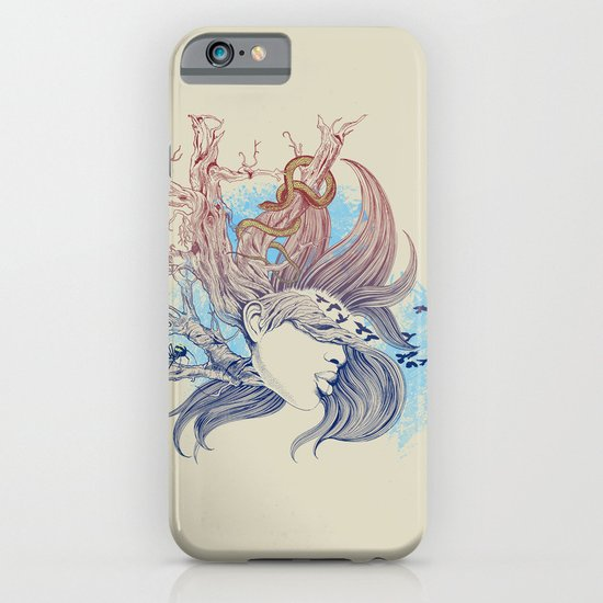 Tree Girl iPhone & iPod Case