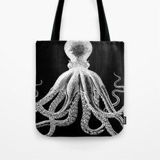 Octopus | Black and White Tote Bag