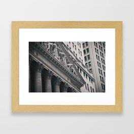 Concrete Camouflage. Framed Art Print