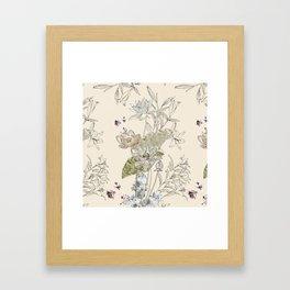 Lotus art Framed Art Print