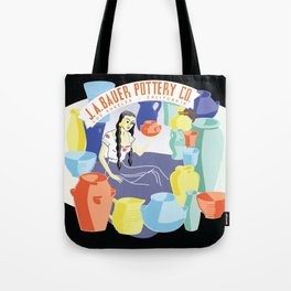 Bauer Pottery Advertising Tote Bag