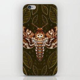 Deaths-Head Moth iPhone Skin