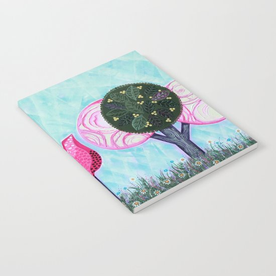 Pink grove Notebook