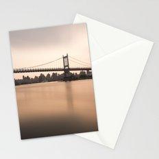 Triborough Bridge (NYC) at Sunset Stationery Cards