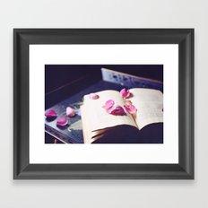 scattered memories Framed Art Print