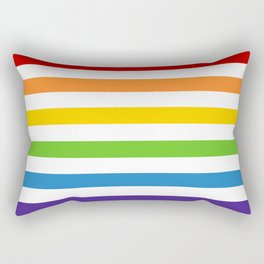 Somewhere Under the Rainbow Rectangular Pillow