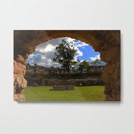 Natural Frame - Guatemala Metal Print