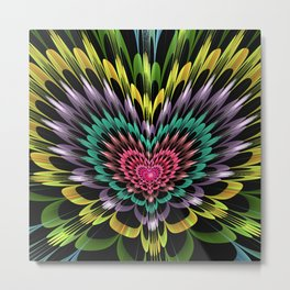 My heart explodes for you Metal Print