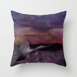 Whale Tale Throw Pillow
