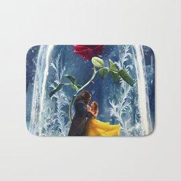 Beauty and the Beast-Rose Bath Mat