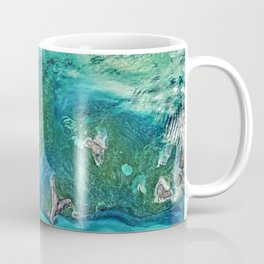 Ice Scours the North Caspian Sea Coffee Mug