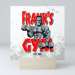 Frank's Gym Mini Art Print