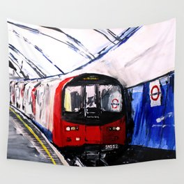 London Underground Northern Line Fine Art Wall Tapestry