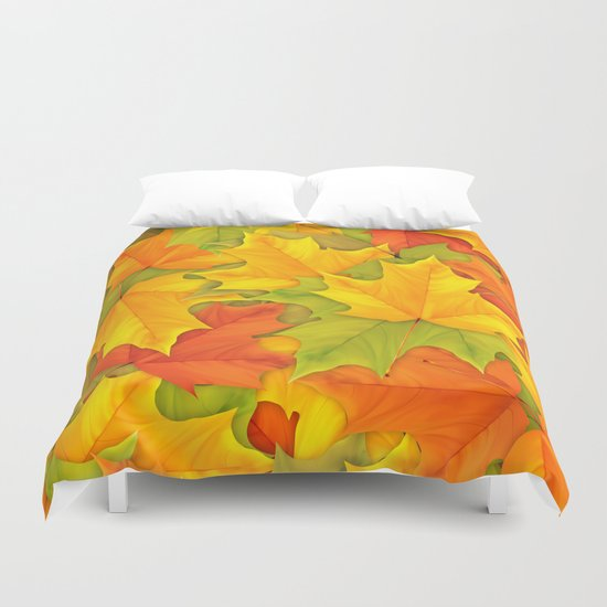 Autumn leaves #9 Duvet Cover