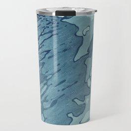 Aqua Shoreline Travel Mug