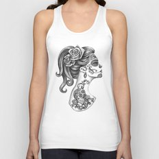 Day of the Dead Girl Unisex Tank Top