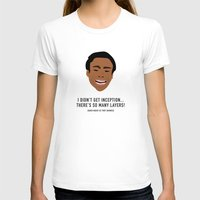 inception T-shirts featuring I Didn't Get Inception! by She's That Wallflower