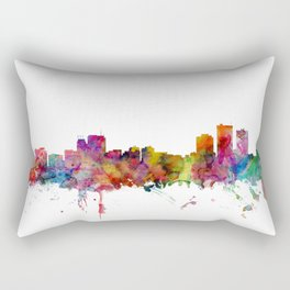 Anchorage Alaska Skyline Rectangular Pillow
