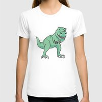 t rex T-shirts featuring T-rex by Cat Milchard