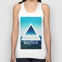 bastille Tank Tops featuring BASTILLE by Hands in the Sky