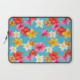 Florais col turq Laptop Sleeve