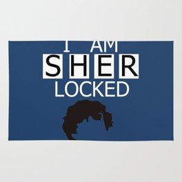 I am Sherlocked Rug