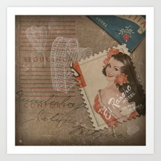 Rancho Amore Art Print
