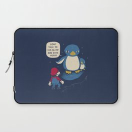 don't talk to me or my son ever again Laptop Sleeve