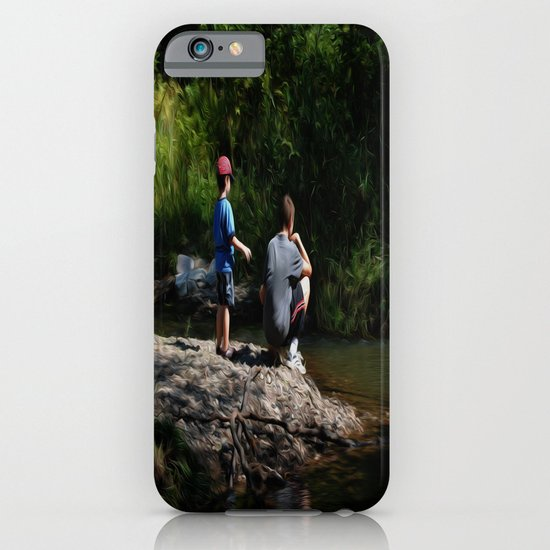 Skipping Stones iPhone & iPod Case