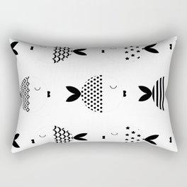 Funny fish 2 Rectangular Pillow